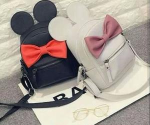 bag, black, and mickey image