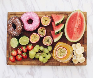 berries, chocolate, and donuts image
