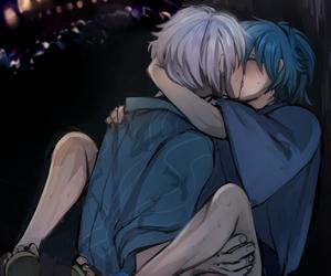 anime, Boys Love, and kiss image