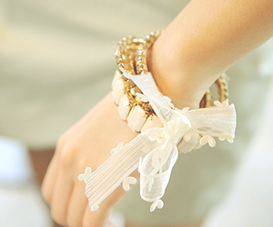 bracelet, accessories, and bow image