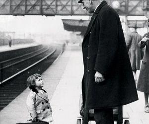 child and train image