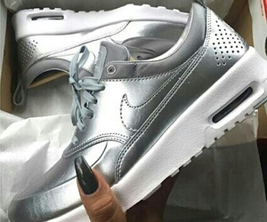 nike, air max thea, and shoes image