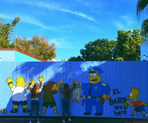 muro and simpsons image