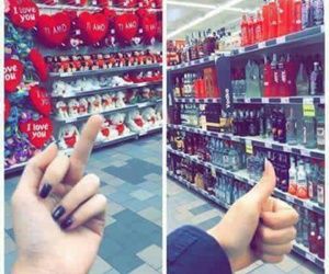 love, alcohol, and vodka image