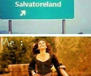 tvd, the vampire diaries, and salvatoreland image