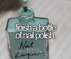 nail polish and bucket list image