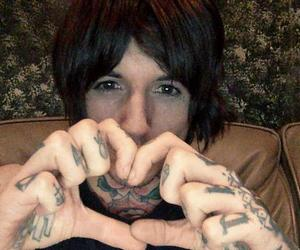 bmth, oli sykes, and oliver sykes image
