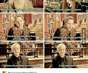 book, funny, and malfoy image