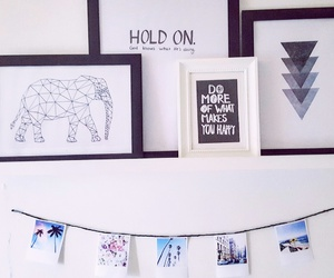 elephant, frames, and pictures image