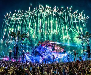 festival, Tomorrowland, and defqon1 image