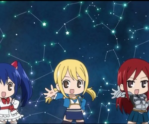 fairy tail, erza scarlet, and lucy heartfillia image