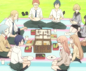 anime, friends, and oota image