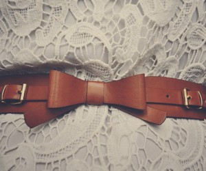 fashion, belt, and lace image