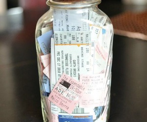 ticket, crafts, and diy image