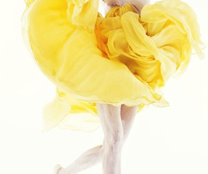 yellow and dance image