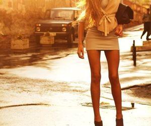 fashion, legs, and skinny image