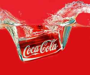 cocacola and warter image