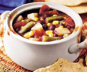 mexican, minestrone soup, and salsa image
