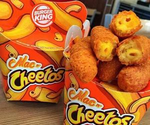 food, cheetos, and cheese image