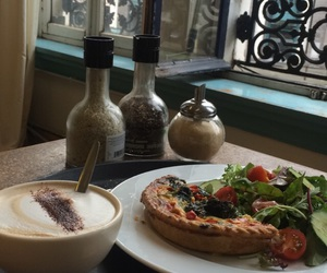 belgium, cappuccino, and food image