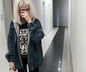 girl, grunge, and fashion image
