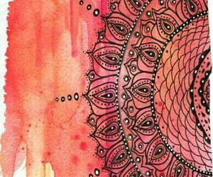 mandala, art, and wallpaper image