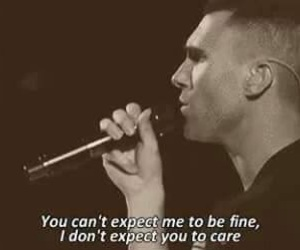 maroon 5, payphone, and quote image