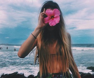 beach, fashion, and outdoors image