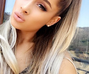 beauty, ariana, and goals image