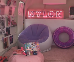pink, home, and neon image