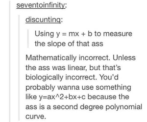 math, ass, and funny image