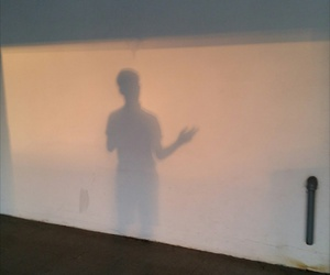 boy, guy, and shadow image