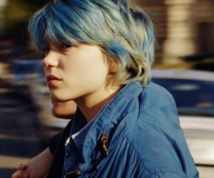Lea Seydoux, blue, and emma image