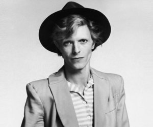 david bowie, black and white, and music image