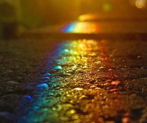rainbow and wallpaper image