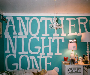 room, night, and bedroom image