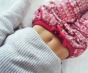 christmas, winter, and fitness image