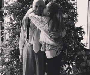 ariana grande, christmas, and grandpa image