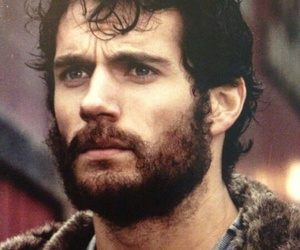 Henry Cavill, beard, and Hot image