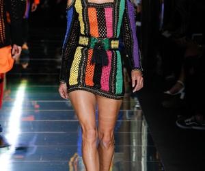 fashion, Balmain, and runway image