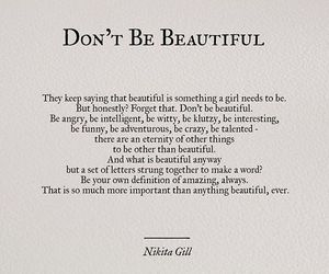 beauty, life, and words image