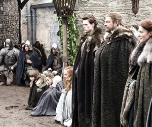 ned, stark, and robb image
