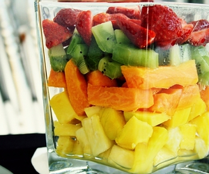 bowl, eatable, and FRUiTS image