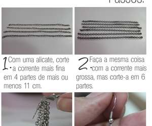 diy, earring, and brincos image