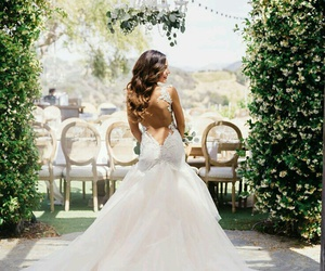 bride, goals, and summer image