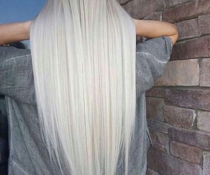 hair and white image