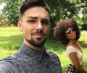 black girl, goals, and interracial image