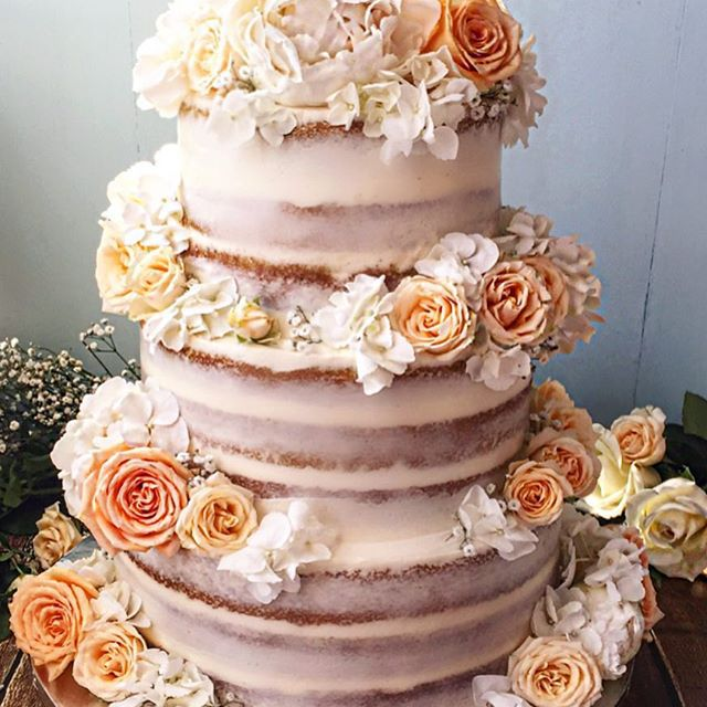 cake, floral, and vogue image
