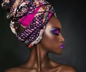 beauty, black, and woman image