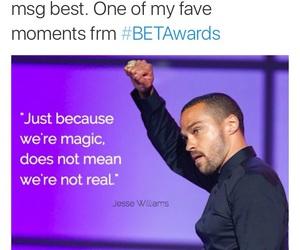 empowerment, jesse williams, and b.e.t awards image